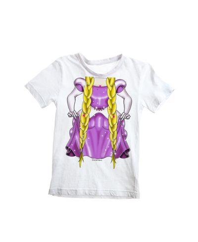 Camiseta-Infantil-Rapunze