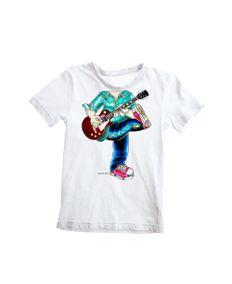 Camiseta-Infantil-Guitarrist