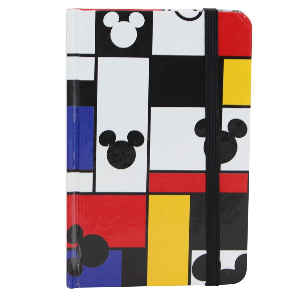 Caderno de anotações mickey colors Unica