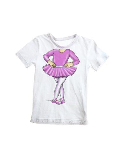 Camiseta-Infantil-Bailarin