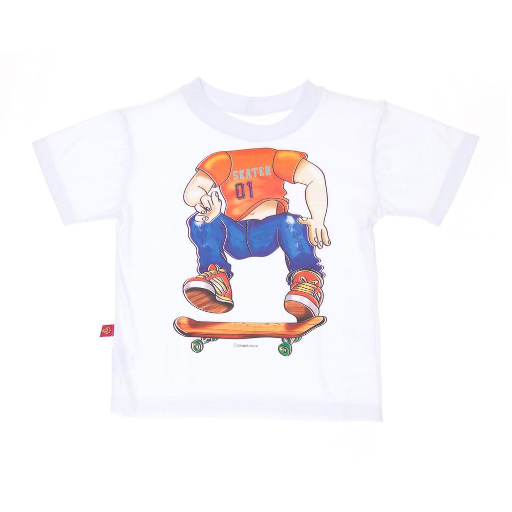 Camiseta Infantil Skatista - ZonaCriativa a0b0d9d1eb7