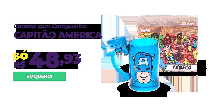 Mes Consumidor - Caneca capitao america
